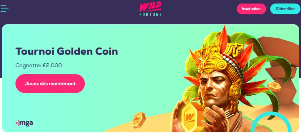 Casino Wild Fortune lobby